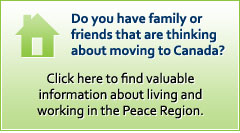 Living and Working in the Peace Region